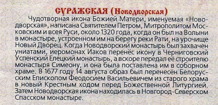 икона новодворская: